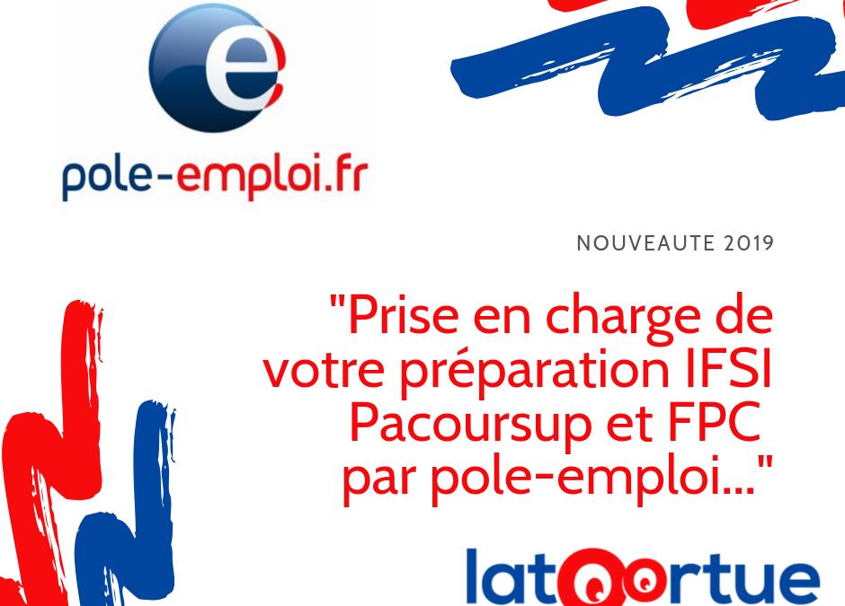 Financement pôle emploi prépa IFSI