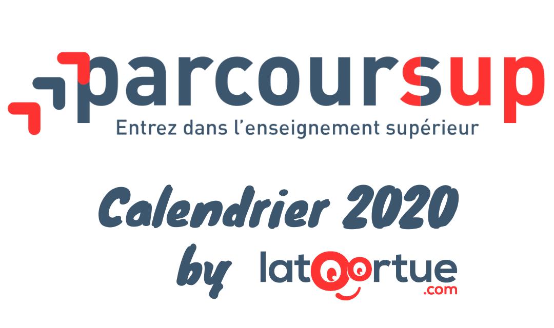 Calendrier Parcoursup 2020 : Les nouveautés