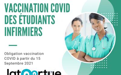 Vaccination COVID des étudiants infirmiers